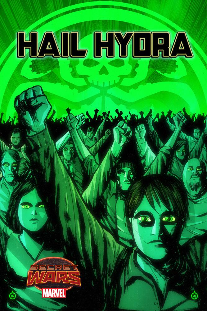Hail Hydra (2015) #1 (Doe Variant)