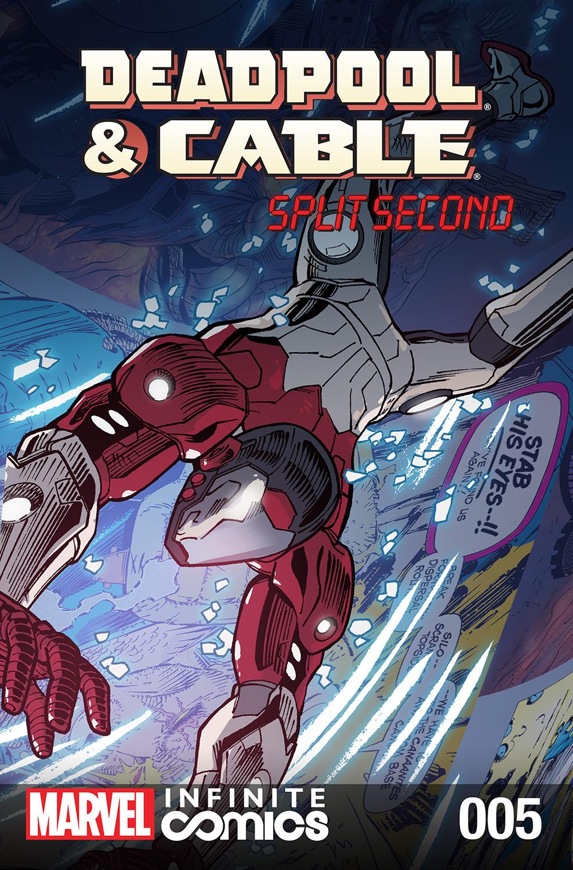 Deadpool & Cable: Split Second Infinite Comic (2015) #5