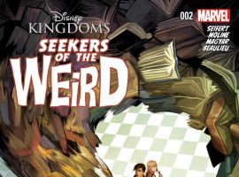 cover from Disney's Seekers of the Weird (2014) #2