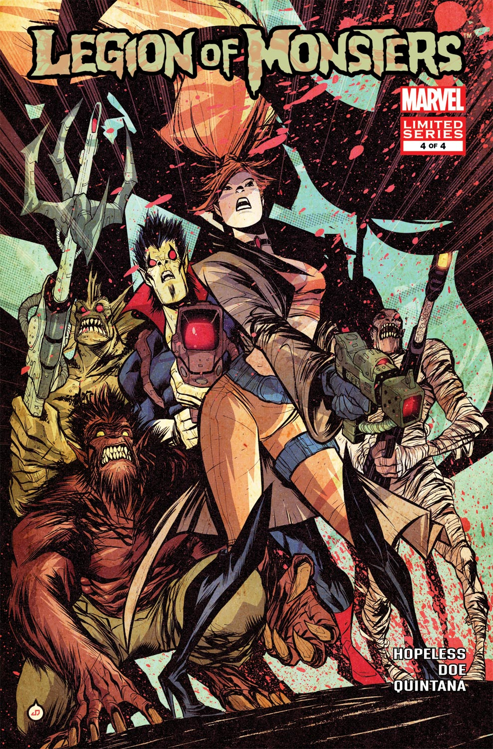 Legion of Monsters (2011) #4