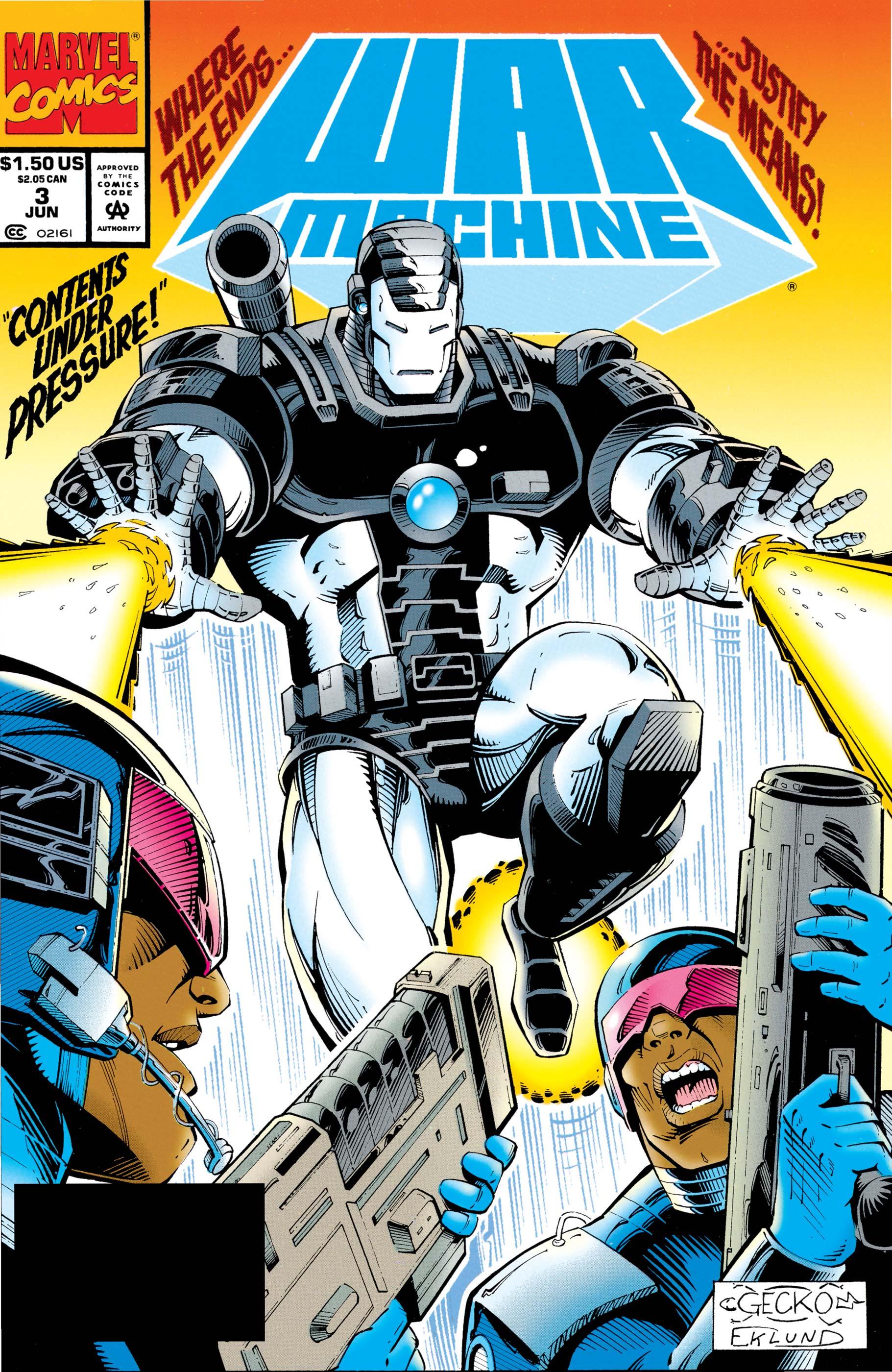 War Machine (1994) #3