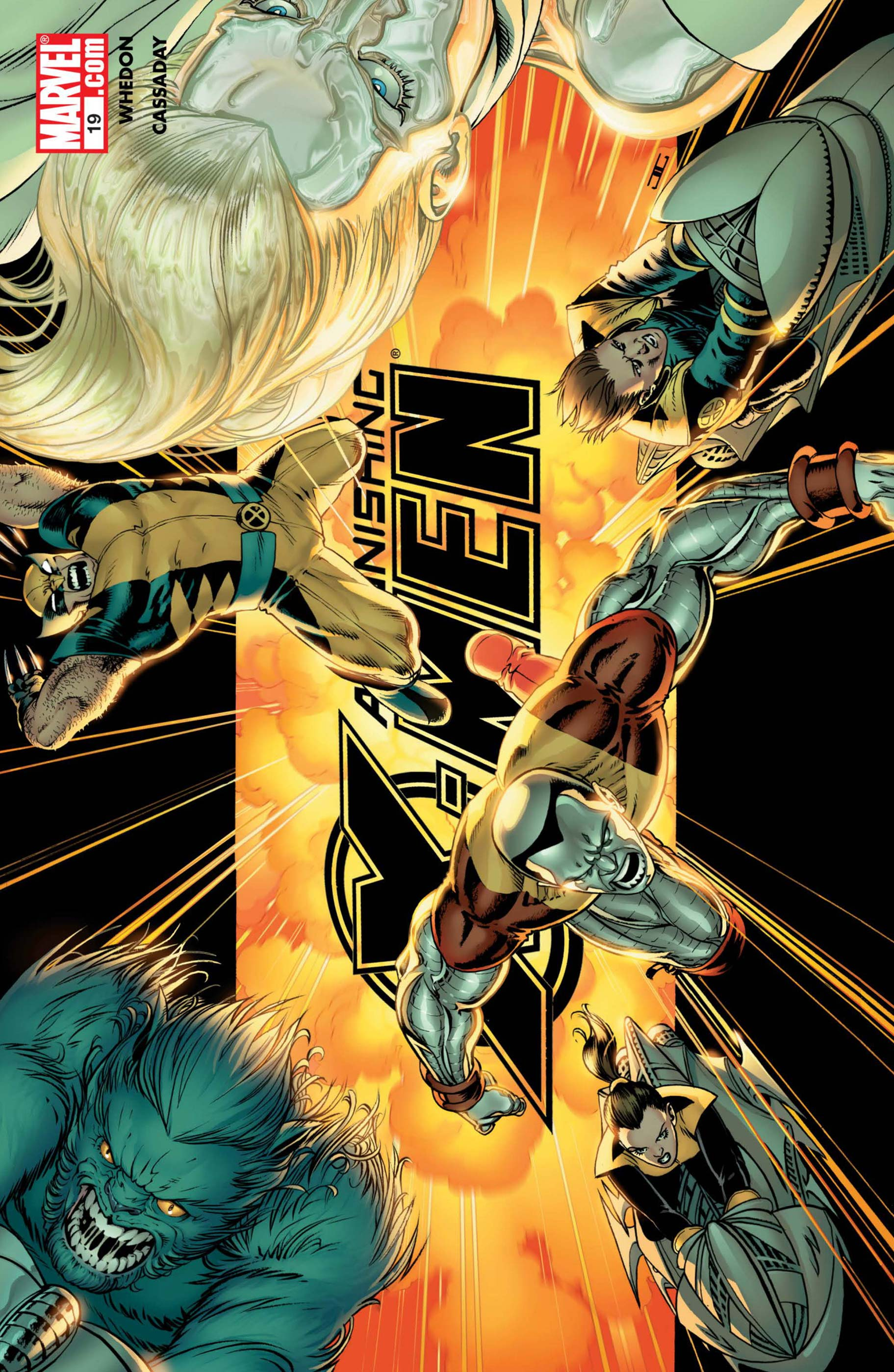 Astonishing X-Men (2004) #19