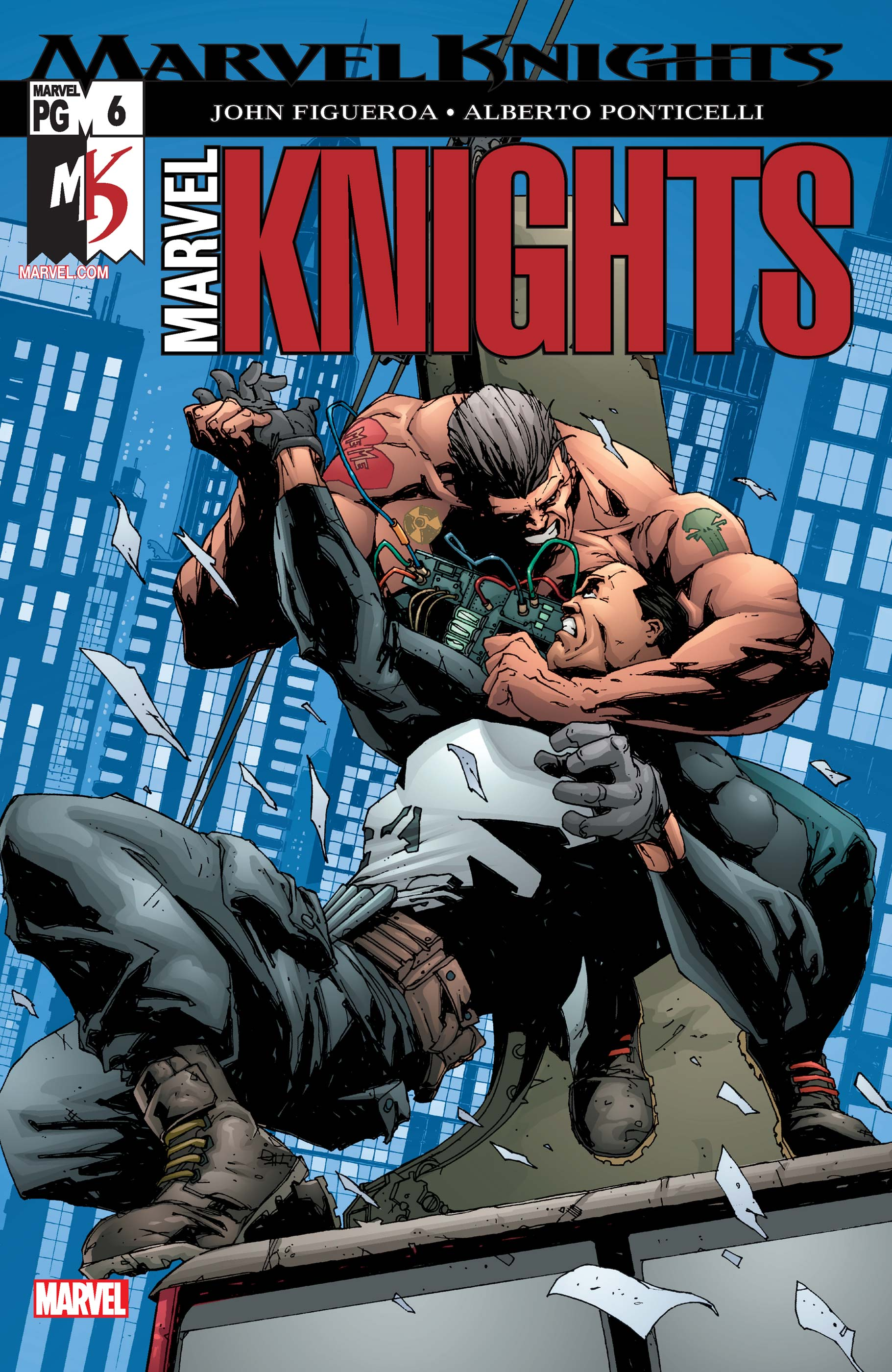 Marvel Knights (2002) #6