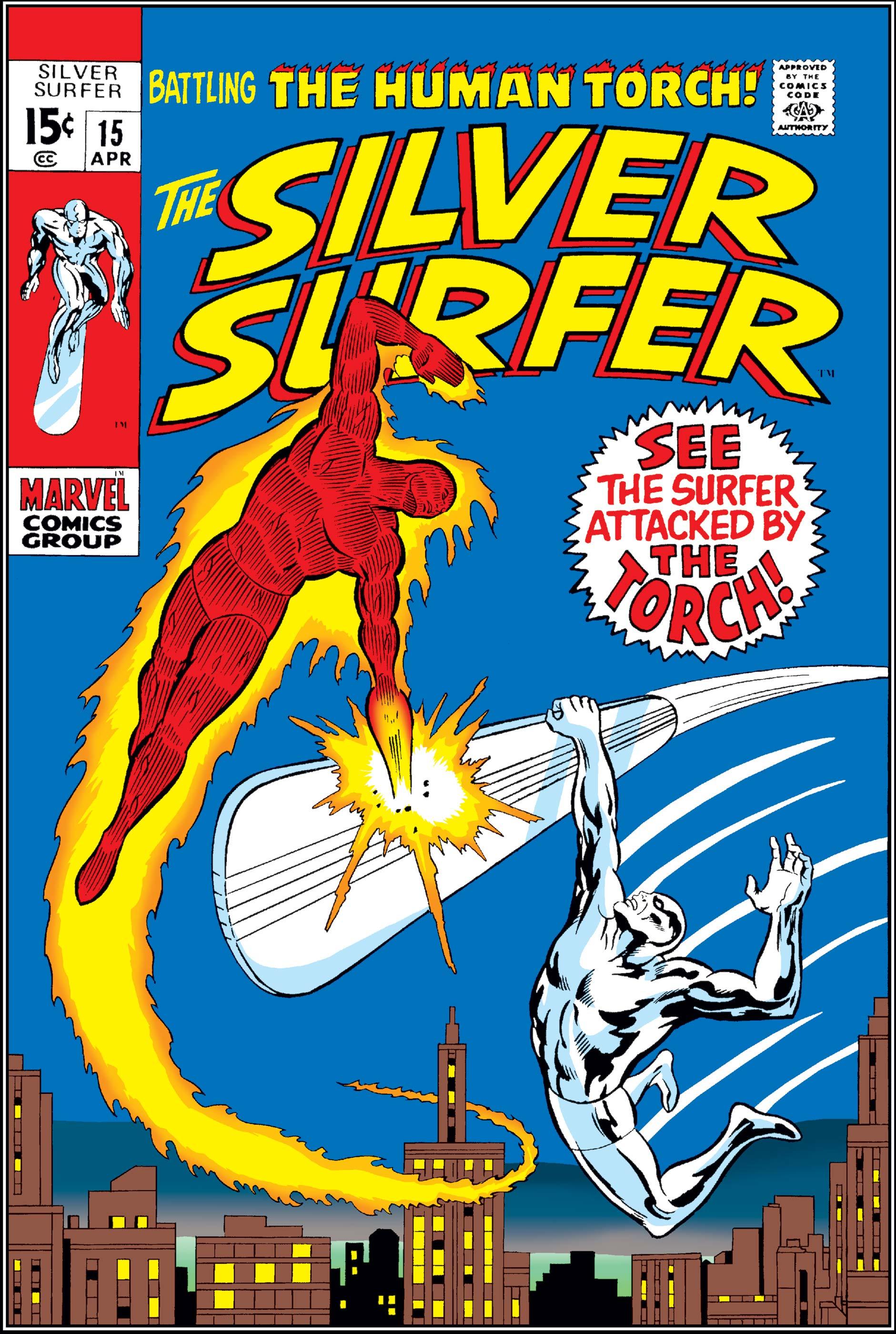 Silver Surfer (1968) #15