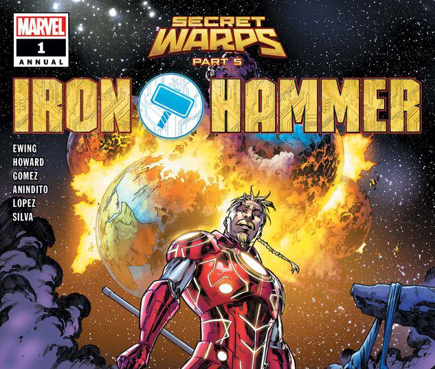 SECRET WARPS: IRON HAMMER ANNUAL 1 #1