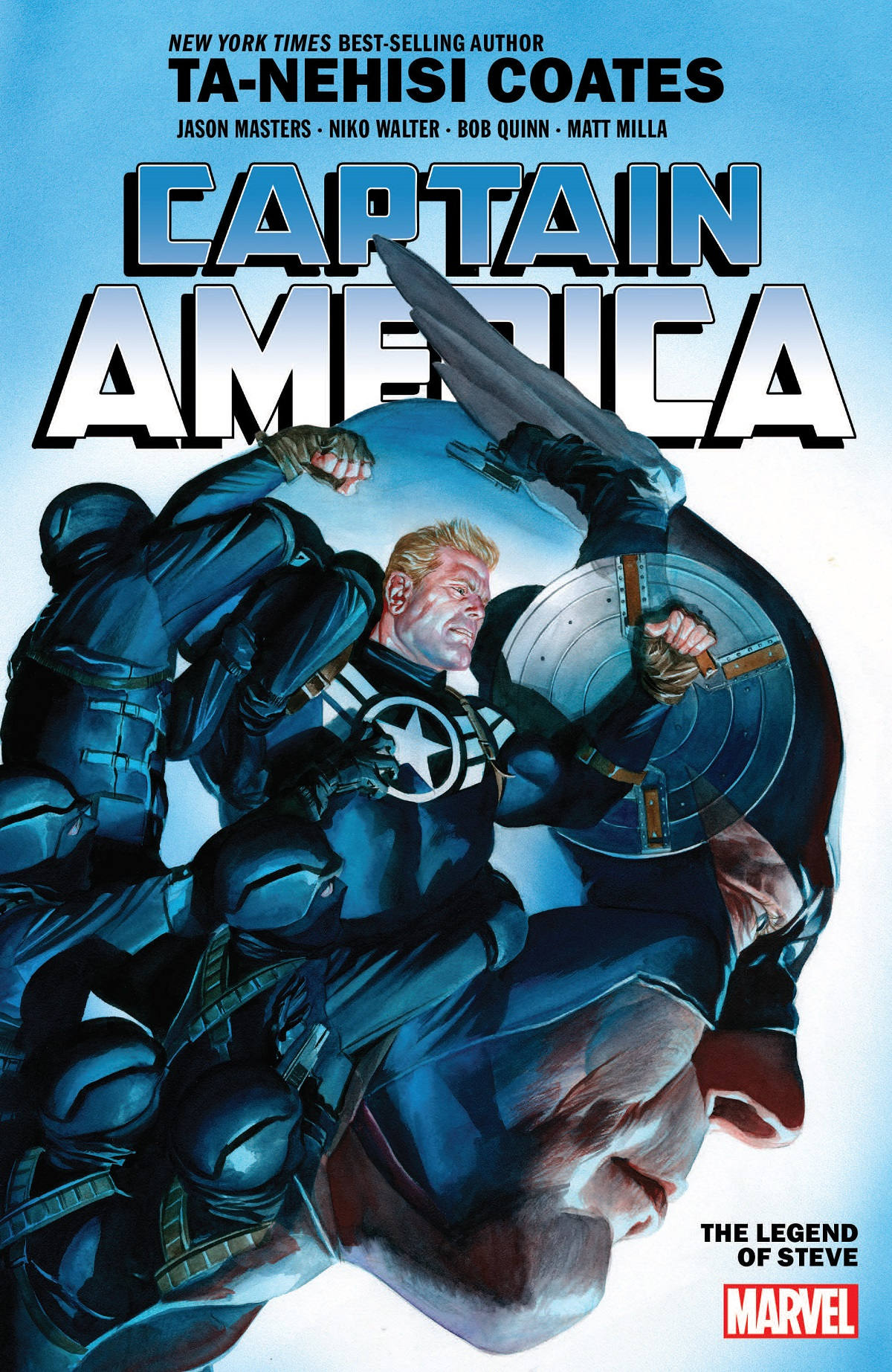 CAPTAIN AMERICA BY TA-NEHISI COATES VOL. 3: THE LEGEND OF STEVE TPB (Trade Paperback)