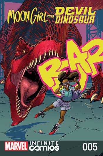 Moon Girl and Devil Dinosaur Infinite Comic (2019) #5