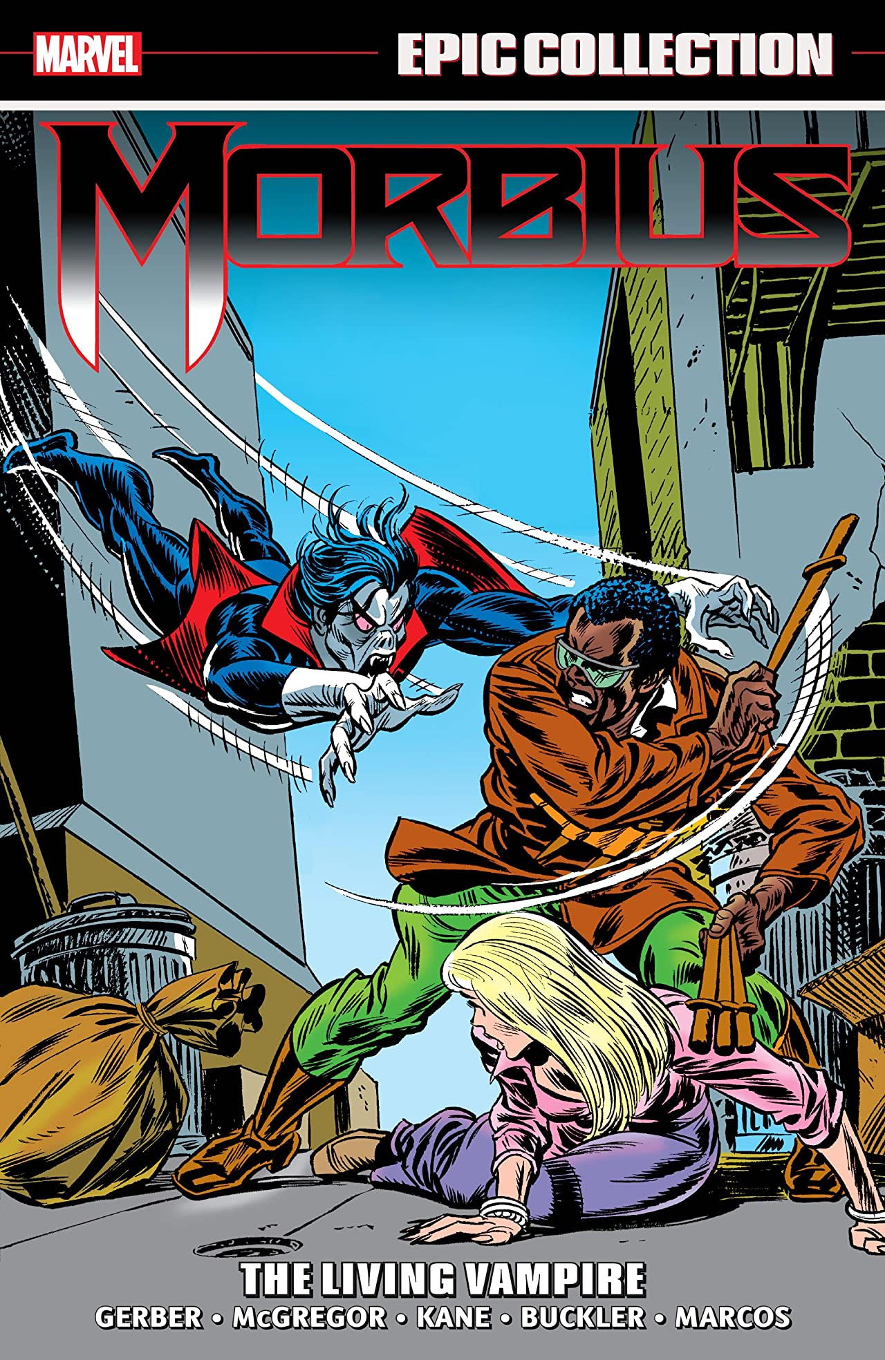 Morbius Epic Collection: The Living Vampire (Trade Paperback)