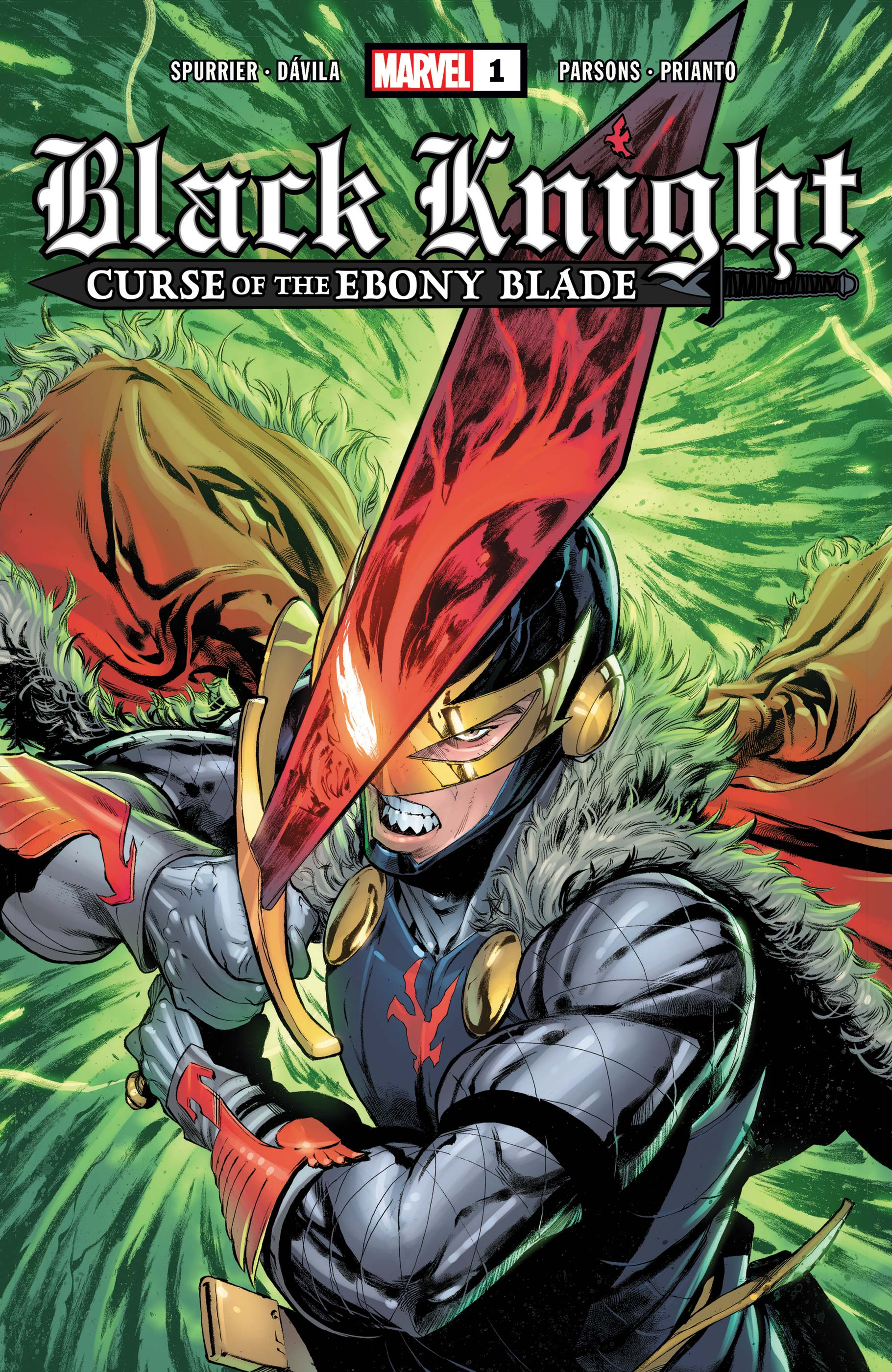 Black Knight: Curse of the Ebony Blade (2021) #1