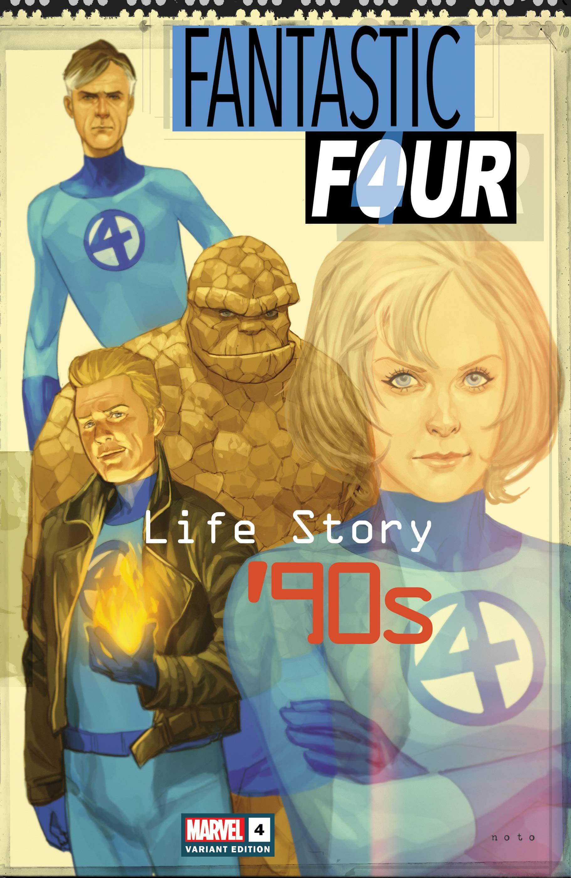 Fantastic Four: Life Story (2021) #4 (Variant)