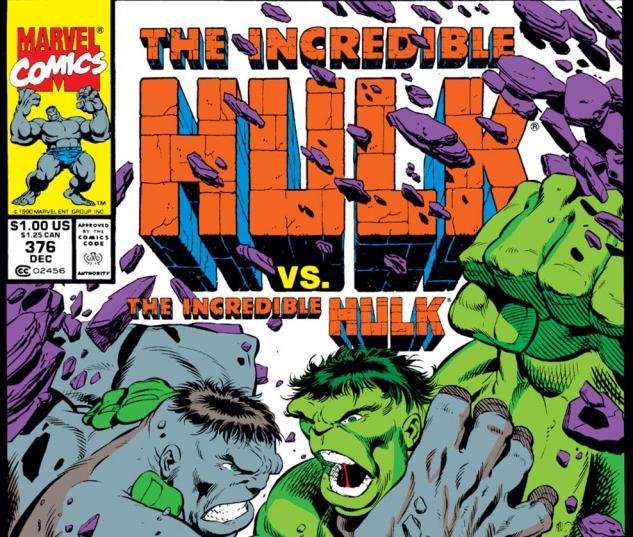 Incredible Hulk (1962) #376 Cover