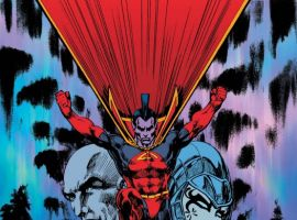 X-Men Forever Giant-Size #1 cover by Mike Grell