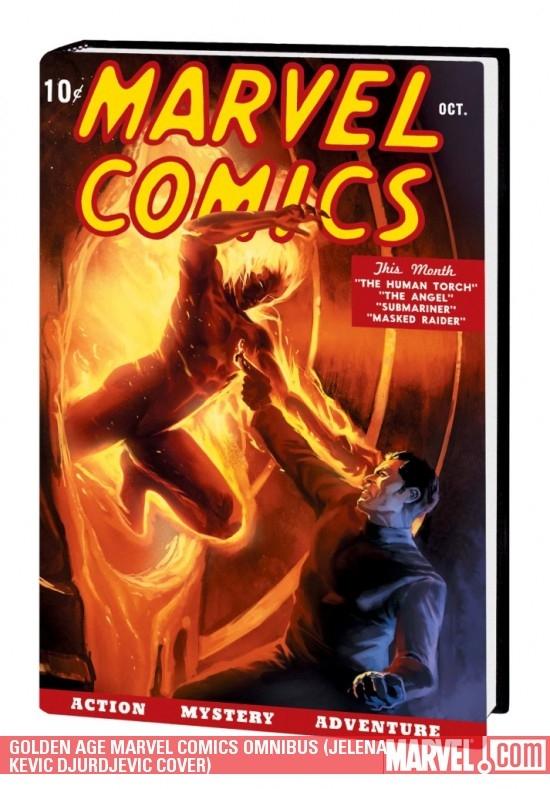 Golden Age Marvel Comics Omnibus Vol. 1 (Hardcover)
