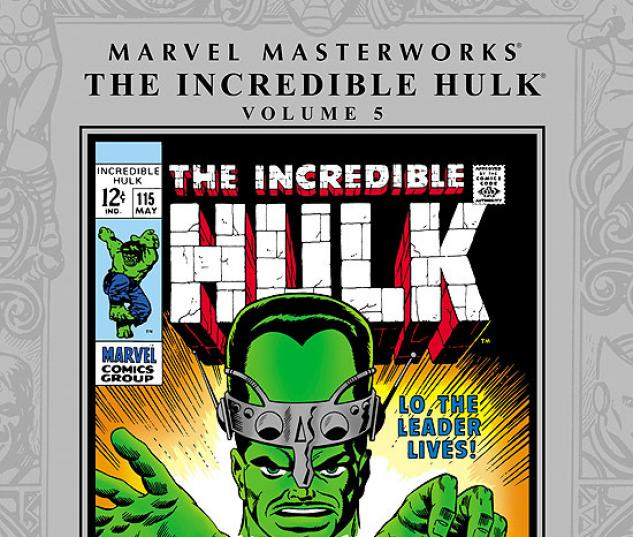 MARVEL MASTERWORKS: THE INCREDIBLE HULK VOL. 5 HC #0