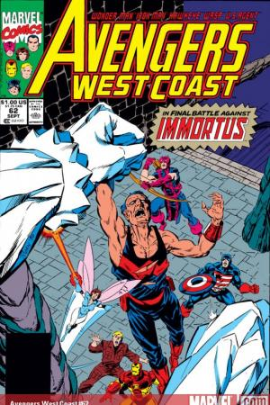 Avengers West Coast #62