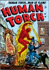 HUMAN TORCH #36 COVER
