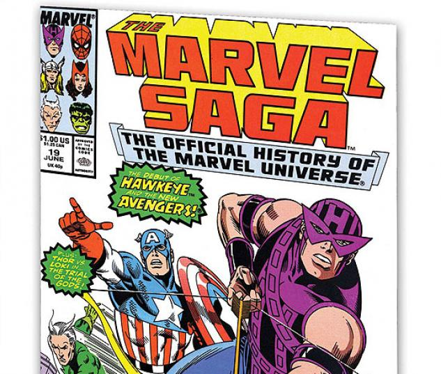 ESSENTIAL MARVEL SAGA VOL. 2 #1