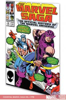 Essential Marvel Saga Vol. 2 (Trade Paperback)