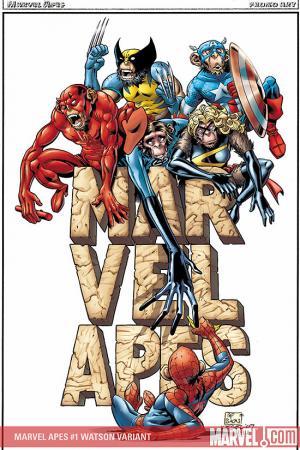 Marvel Apes (2008) #1 (BACHS VARIANT)