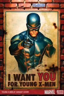 Young X-Men (2008) #1 (SILVESTRI VARIANT)