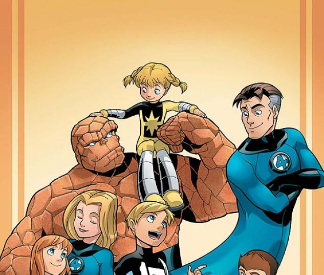 Fantastic Four and Power Pack (2007) #1