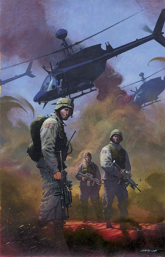 Combat Zone: True Tales of Gi's in Iraq (2005) #1