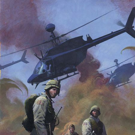 COMBAT ZONE: TRUE TALES OF GI'S IN IRAQ (2005) #1 COVER