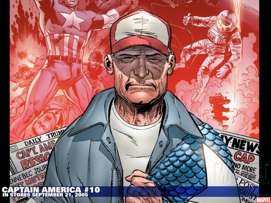 Captain America (1996) #10 Wallpaper