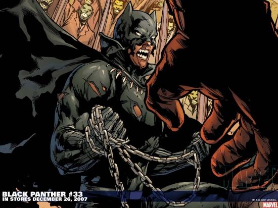 Black Panther (1998) #33 Wallpaper