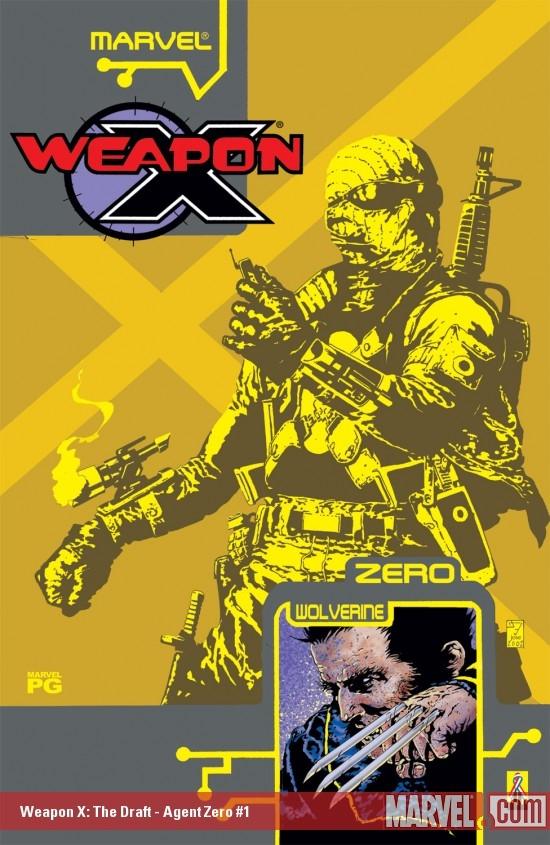 Weapon X: The Draft – Agent Zero (2002) #1