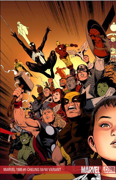 Marvel 1985 (2008) #1 (50/50 VARIANT)