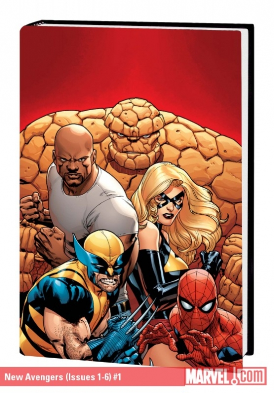 New Avengers by Brian Michael Bendis Vol. 1 (Hardcover Book)