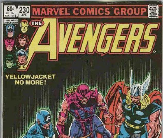 Avengers #230 cover