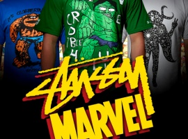 The Stussy x Marvel Project- Series Two Revealed