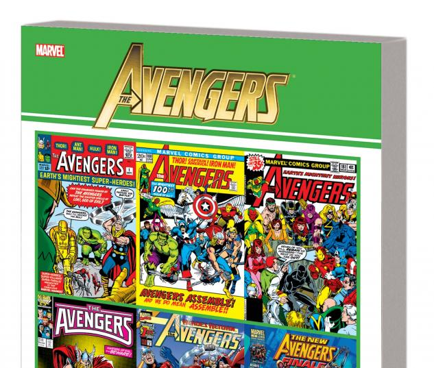 Avengers: Official Index to the Marvel Universe GN-TPB #1 Cover