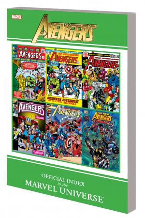 Avengers: Official Index to the Marvel Universe GN-TPB (Graphic Novel)