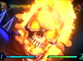 Ghost Rider in Ultimate Marvel vs Capcom 3 by Capcom
