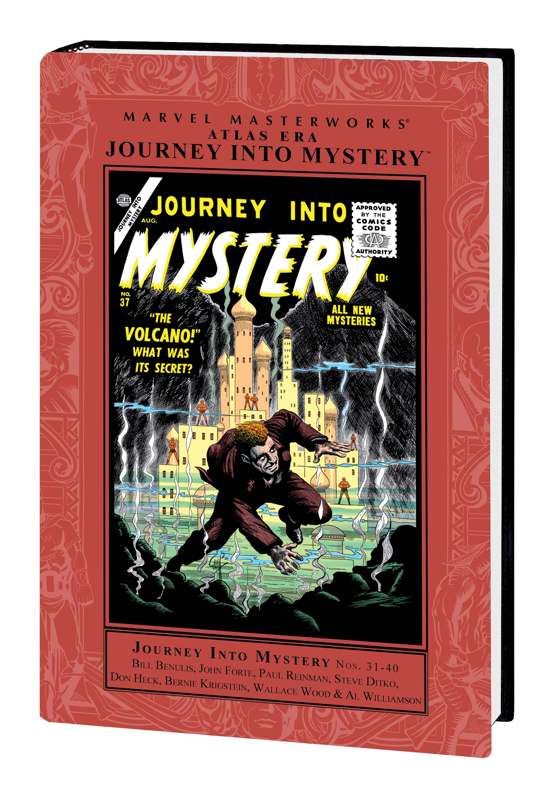 Marvel Masterworks: Atlas Era Journey Into Mystery (Hardcover)