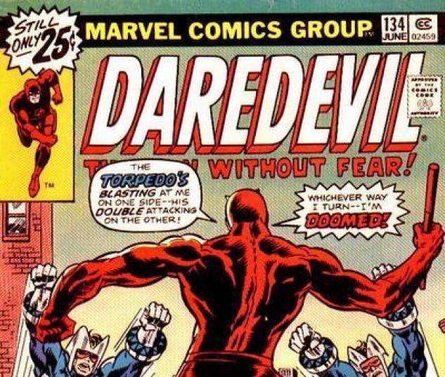 Daredevil #134 cover