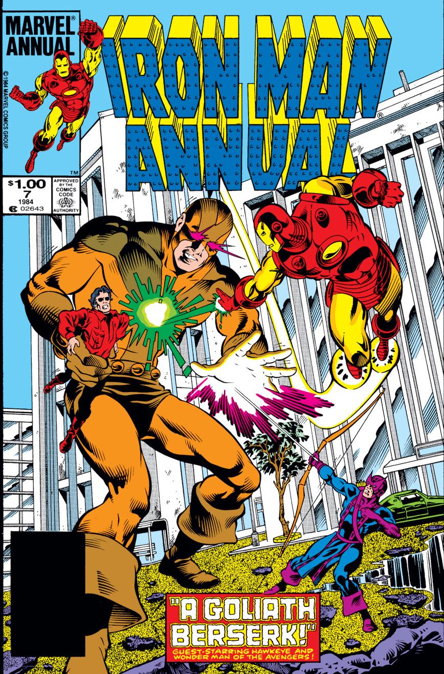 Iron Man Annual (1970) #7