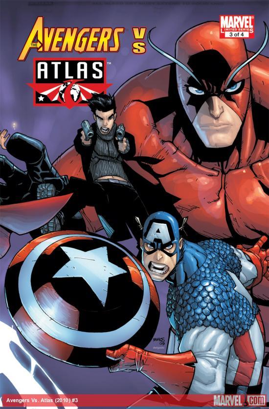 Avengers Vs. Atlas (2010) #3