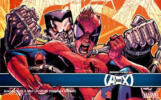 Avengers VS X-Men (2012) #9 (Stegman Variant)
