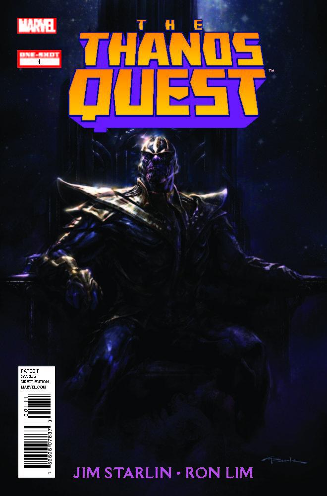 Thanos Quest (2012) #1