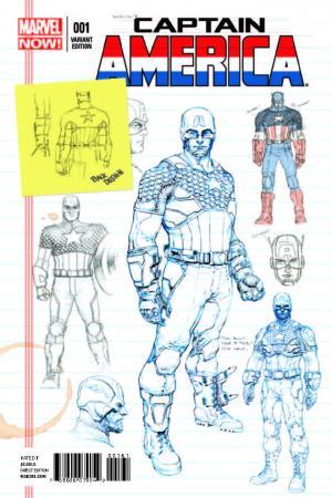 Captain America (2012) #1 (Opena Design Variant)