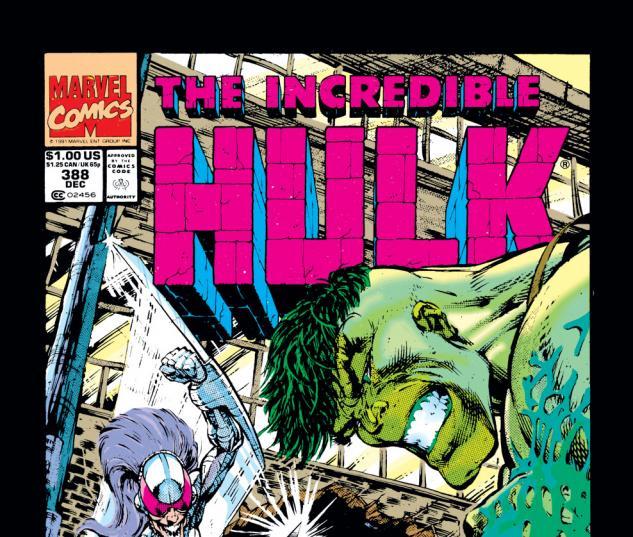 Incredible Hulk (1962) #388 Cover