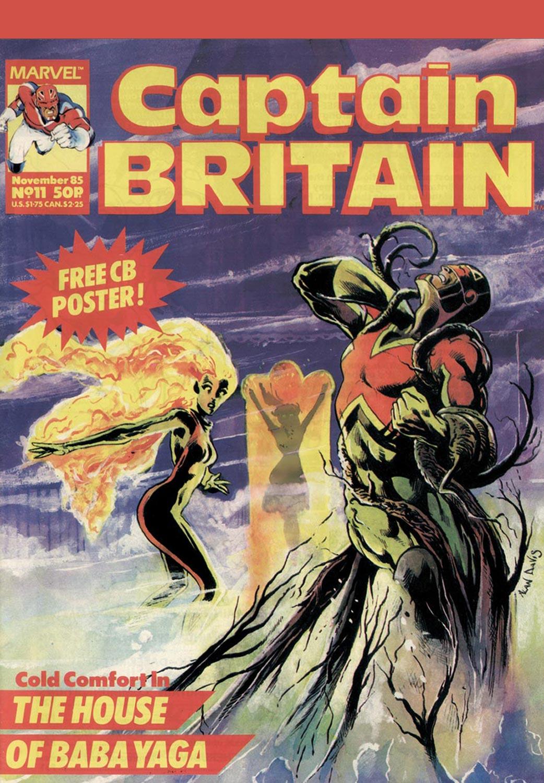 Captain Britain (1985) #11