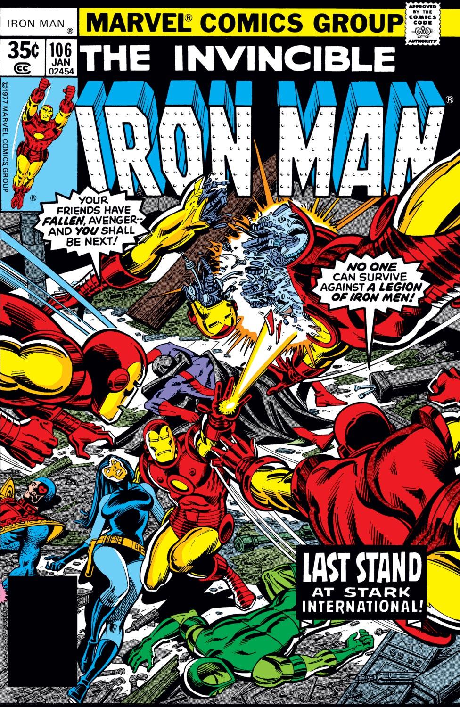 Iron Man (1968) #106