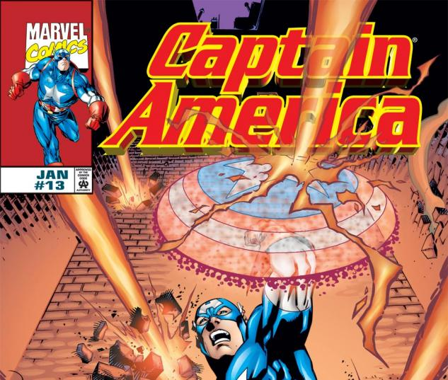 Captain America (1998) #13 Cover