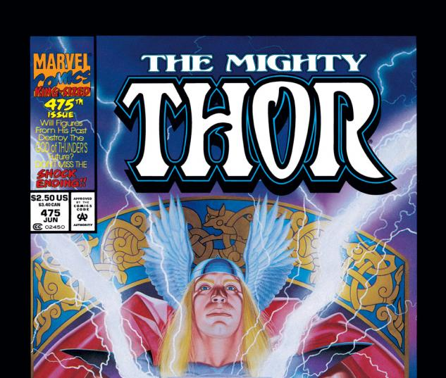 Thor (1966) #475 Cover
