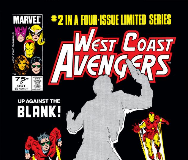 West Coast Avengers (1984) #2 Cover
